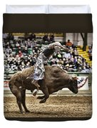 A Night At The Rodeo V8 Duvet Cover