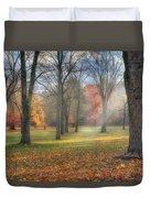 A November Morning Duvet Cover