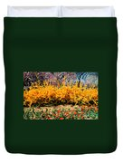 A Painting Springtime 2 Dali-style Duvet Cover