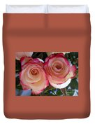 A Pair Of Roses  Duvet Cover