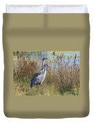 A Pair Of Sandhill Cranes Duvet Cover
