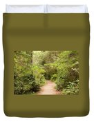 A Path To The Redwoods Duvet Cover