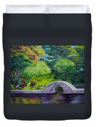A Peaceful Place In Hiroshima Duvet Cover