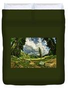 A Peacful Yosemite Day Duvet Cover