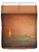 A Perfect Summer Evening Duvet Cover by Loriental Photography