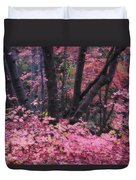 A Pink Autumn  Duvet Cover