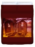 A Place Of Solace After Loss Duvet Cover