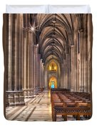 A Place Of Worship Duvet Cover