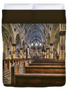 Place To Worship Duvet Cover