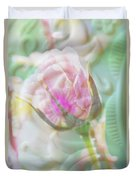 A Porcelain Rose Duvet Cover