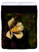 A Pretty Flower In The Sun Duvet Cover