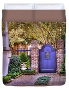 A Private Garden In Charleston Duvet Cover