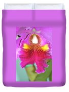 A Purple Cattelaya  Orchid Duvet Cover