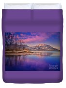 A Purple Surrender Duvet Cover