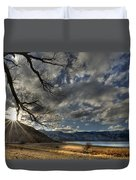 A Quiet Time Duvet Cover