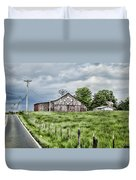 A Quilted Barn Duvet Cover