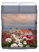 A Rainy Day In Prague 2 Duvet Cover