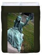 A Raised Hand -- Thomas Trueman Gaff Memorial -- 2 Duvet Cover