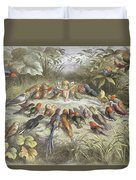 A Rehearsal In Fairy Land, Illustration Duvet Cover