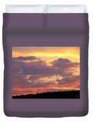 A Remarkable Sky Duvet Cover