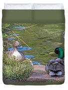 A Restful Moment Duvet Cover