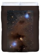 A Rich Region Of Reflection Duvet Cover