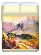 A River In France Duvet Cover