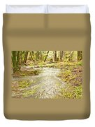 A River Of Green Duvet Cover