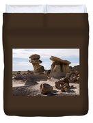 A Rock Garden Duvet Cover