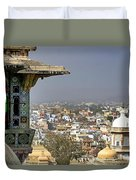 A Room With A View.. Duvet Cover