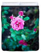 A Rose Blooms Duvet Cover