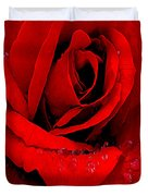 A Rose For A Sweetheart Duvet Cover