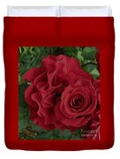 A Rose Within A Rose Duvet Cover