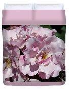A Rose Named Blueberry Hill  Duvet Cover