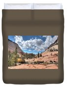 A Sandstone Valley Duvet Cover