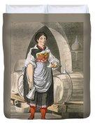 A Serving Girl At An Inn Duvet Cover