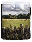 A Sheep's Field Duvet Cover