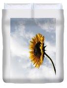A Side Of Sunflower Duvet Cover