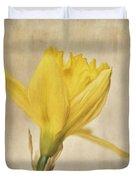 A Simple Daffodil Duvet Cover