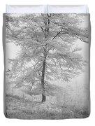 A Single Infrared Beech Tree Duvet Cover