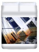 A Sinking Feeling Duvet Cover