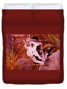 A Skull In The Rocks Duvet Cover
