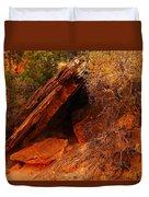 A  Slab Of Rock Duvet Cover
