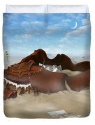 A Slow Death In Piano Valley Duvet Cover