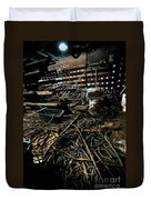 A Snake Pit Of Wires Duvet Cover