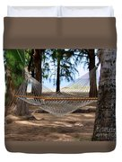 A Snooze By The Ocean Duvet Cover