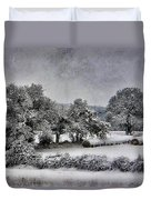 A Snowy Day Duvet Cover