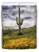 A Southwestern Style Spring Duvet Cover