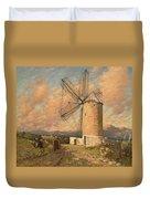 A Spanish Mill Duvet Cover