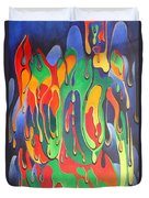 A Splash Of Paint Duvet Cover